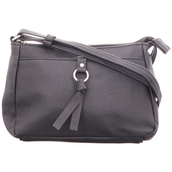 Jewels of Style Damen-Reißverschlusshandtasche Schwarz
