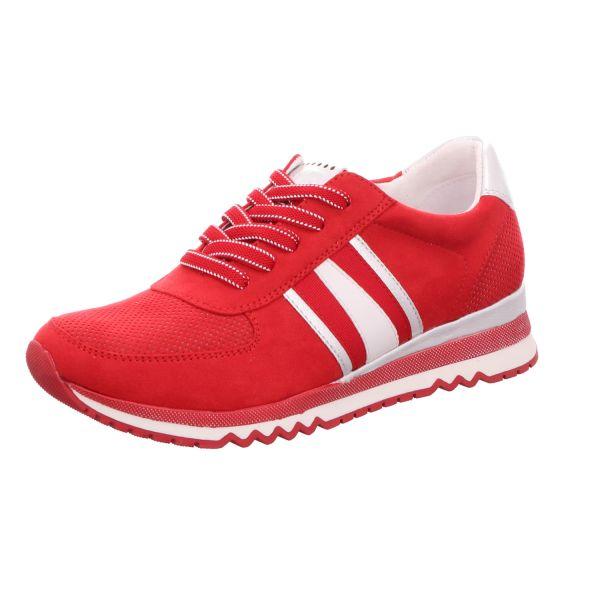 MARCO TOZZI Damen-Sneaker-Schnürhalbschuh Rot