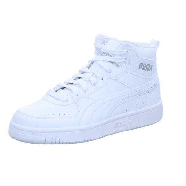 Puma Herren-Sneaker-Schnürstiefelette Rebound Joy Weiß