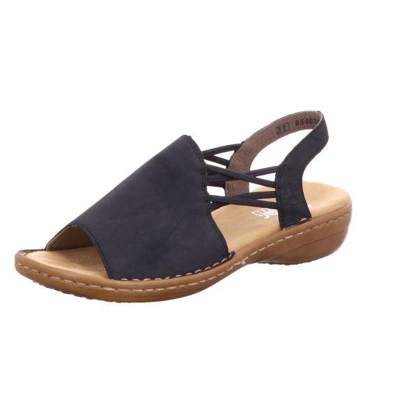 Rieker Damen-Sandalette Blau