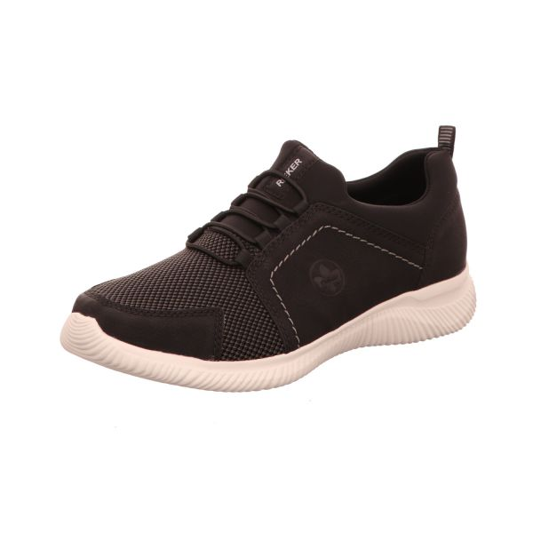 Rieker Herren-Sneaker Schwarz-Grau