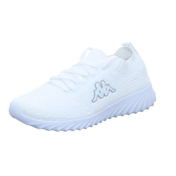 KAPPA Damen-Sneaker-Slipper Sneem Weiß
