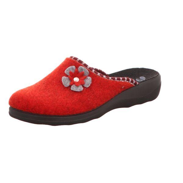 inblu Damen-Pantoffel Rot