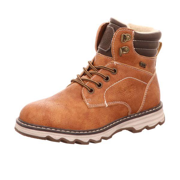 Sneakers Jungen-Schnürstiefel gefüttert Braun
