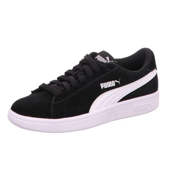 Puma Jungen-Schnürhalbschuh-Sneaker Puma Smash V2 SD Jr Schwarz
