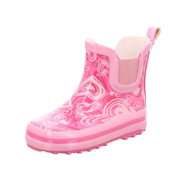 Sneakers Kinder-Gummistiefel Pink