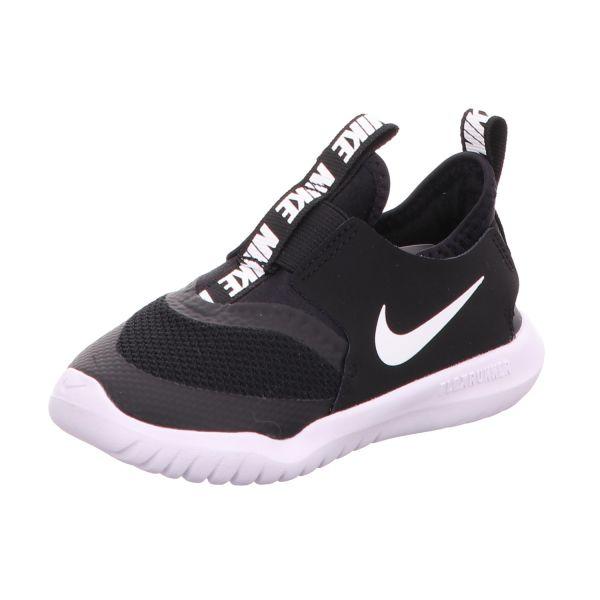 Nike Jungen-Slipper-Sneaker Flex Runner Schwarz-Weiß
