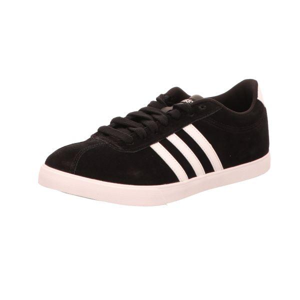 Adidas Damen-Sneaker Courtset Schwarz-Weiß