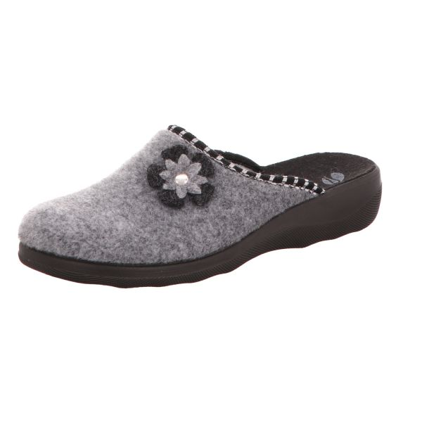 inblu Damen-Pantoffel Grau