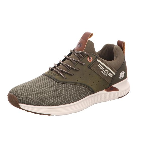 Dockers Herren-Sneaker Khaki-Grün