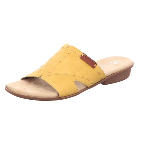 Alyssa Damen-Pantolette Gelb