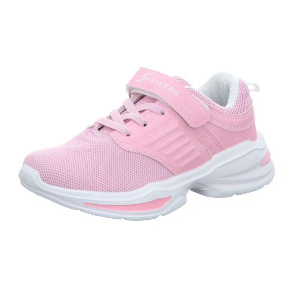 Sneakers Mädchen-Slipper-Kletter-Sneaker Rosa