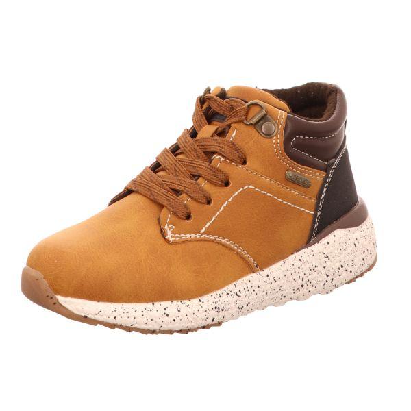 Sneakers Jungen-Schnürstiefelette Braun