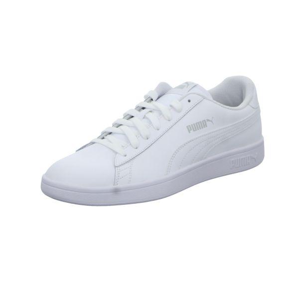 Puma Herren-Sneaker Smash v2L Weiß