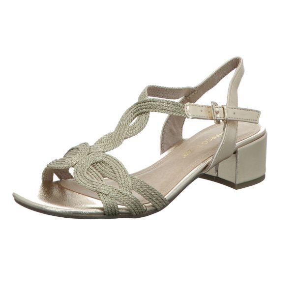 MARCO TOZZI Damen-Sandalette Platinum-Grau