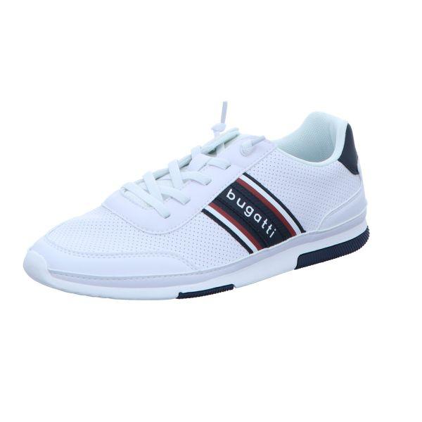 Bugatti Herren-Sneaker Weiß