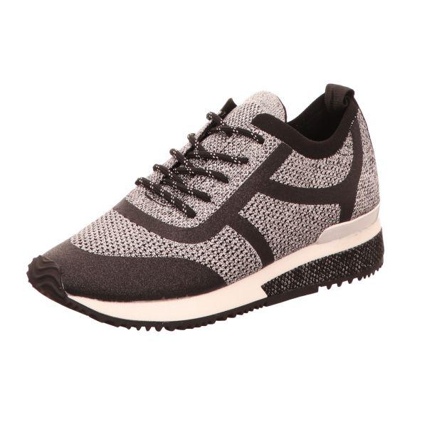 La Strada Damen-Sneaker Silber-Metallic