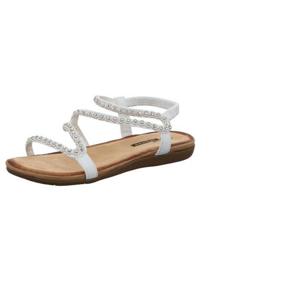 living UPDATED Damen-Sandalette Weiß