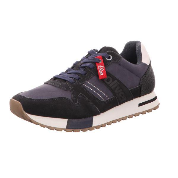 s.Oliver Herren-Sneaker Blau