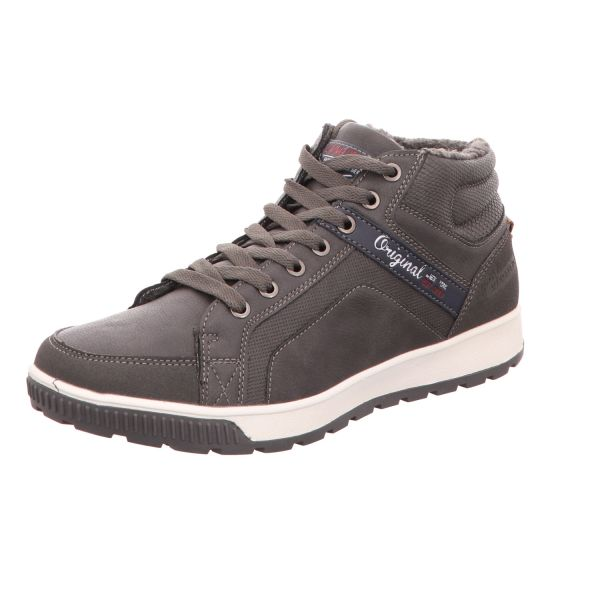 living UPDATED Herren-Schnürstiefel Grau