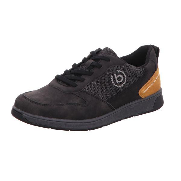 Bugatti Herren-Sneaker-Schnürhalbschuh Schwarz