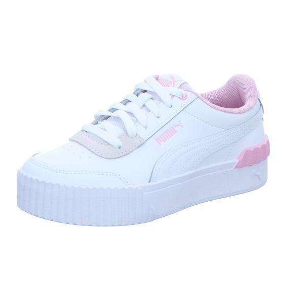 Puma Damen-Sneaker Carina Lift Weiß-Rosa