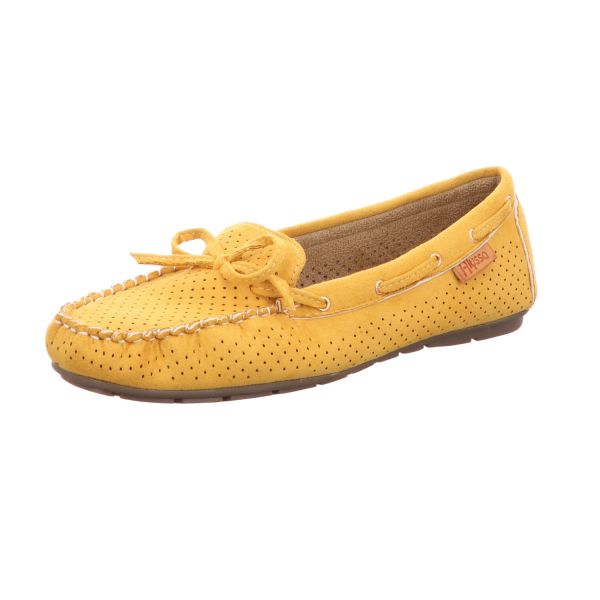 Alyssa Damen-Slipper-Slip-On Gelb