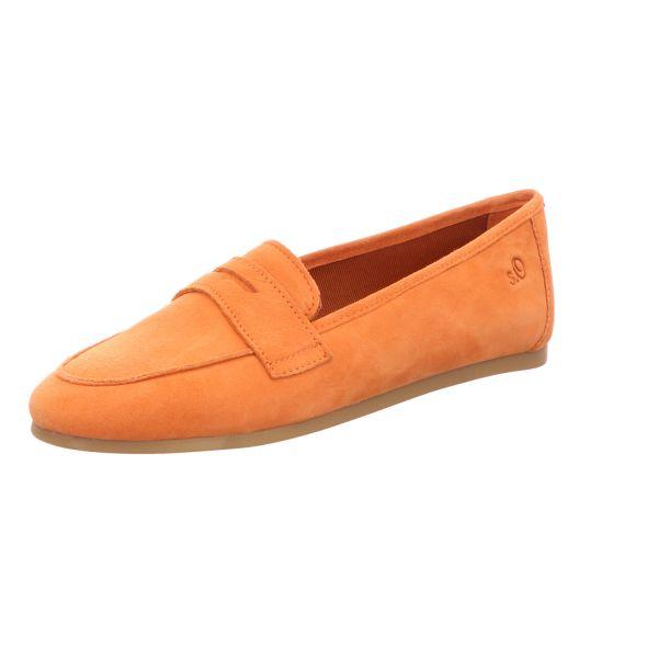 s.Oliver Damen-Slipper-Trotteur Orange