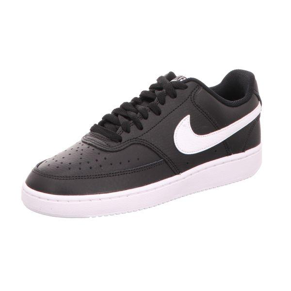 Nike Damen-Sneaker Court Vision Low Schwarz