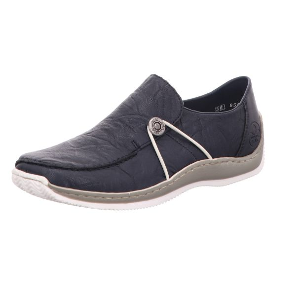 Rieker Damen-Slipper-Slip-On Blau
