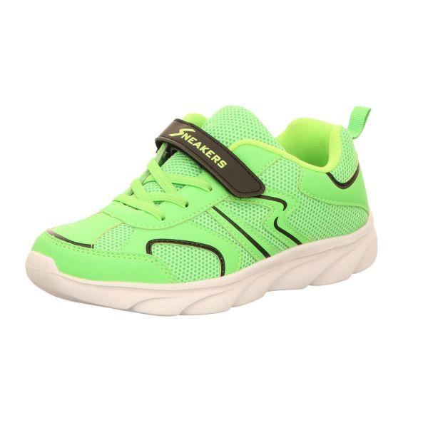 Sneakers Kinder-Klett-Sportschuh Neon-Grün
