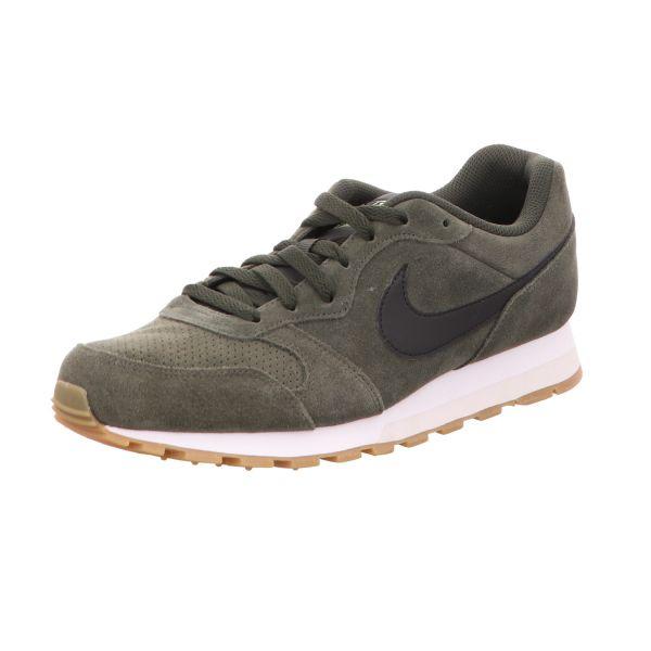 Nike Herren-Sneaker MD Runner 2 Suede Grün