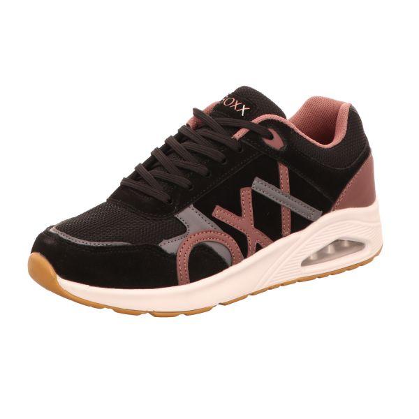 BOXX Damen-Sneaker Schwarz
