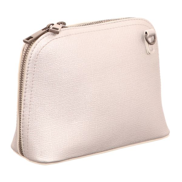 Jewels of Style Schultertasche Silber-Grau