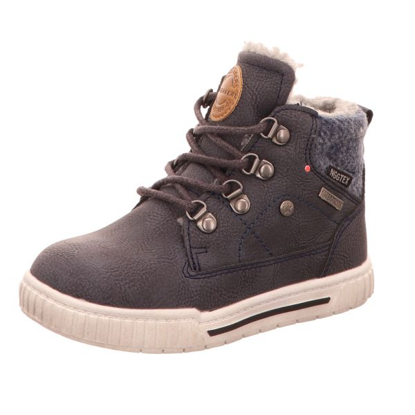 Sneakers Jungen-Schnürstiefelette Blau