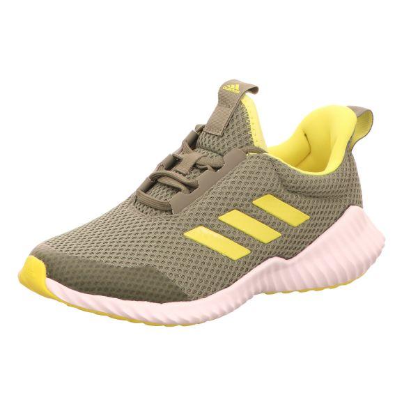 Adidas Kinder-Sneaker mit Sportboden FortaRun K Grün-Gelb