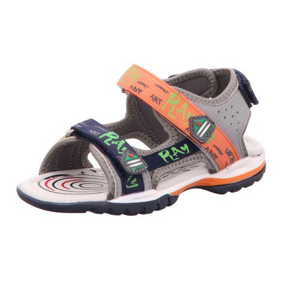 Sneakers Jungen-Sandalette Grau