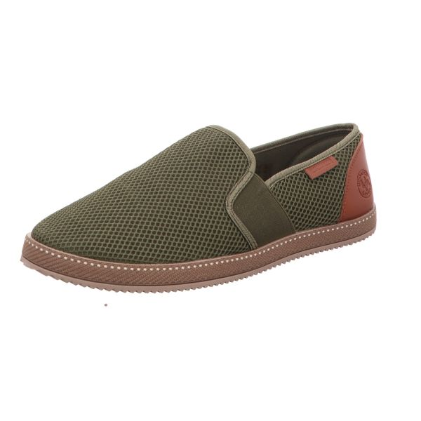living UPDATED Herren-Slipper-Slip-On Grün