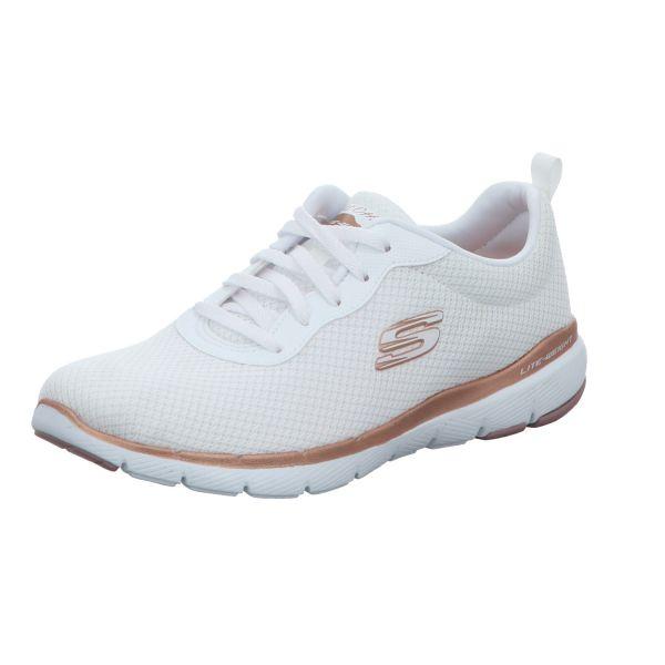 Skechers Damen-Sneaker Flex Appeal 3.0 First Insight Weiß