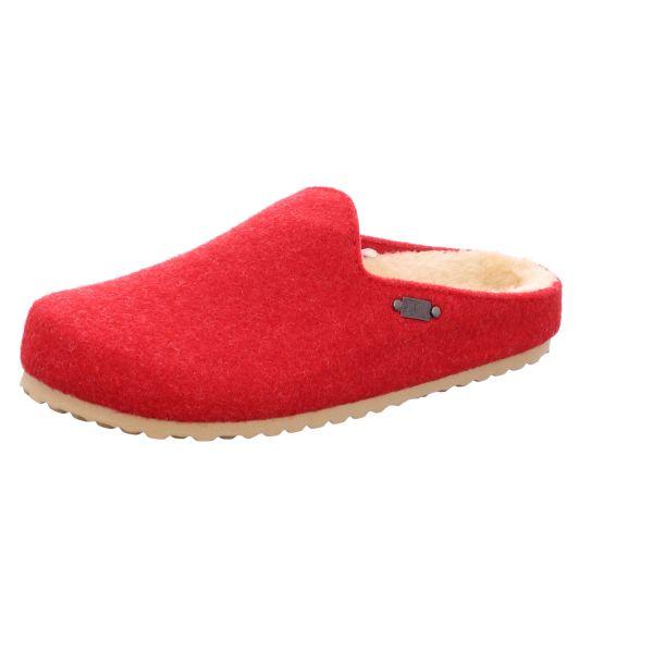 Home Comfort Damen-Pantoffel gefüttert Rot