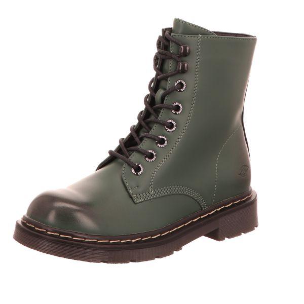 Dockers Damen-Schnürstiefelette Grün