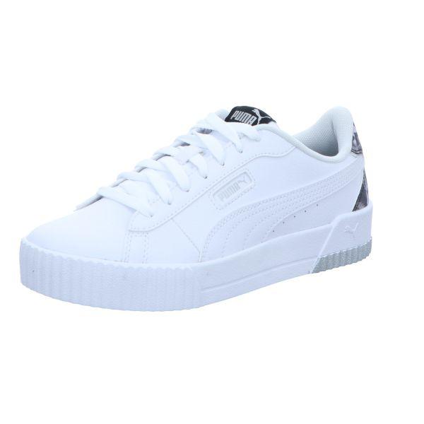 Puma Damen-Sneaker Carina Crew Untamed Weiß