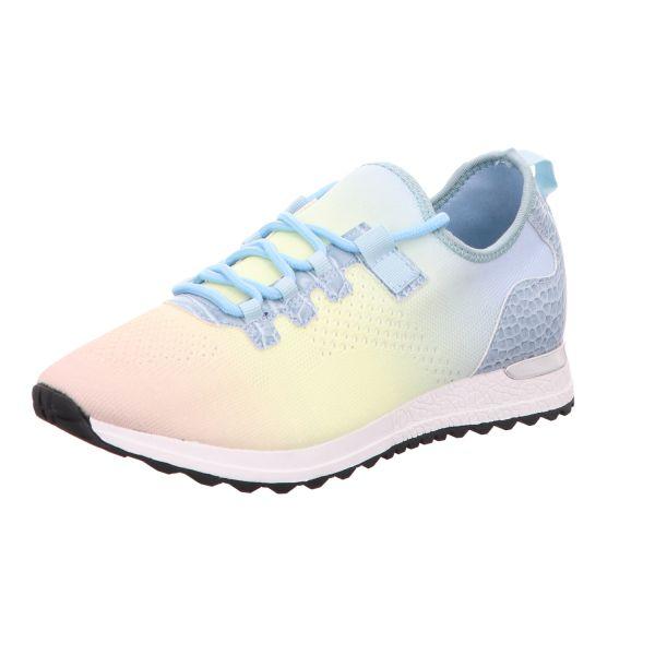 BOXX Damen-Sneaker-Slipper Blau-Multi
