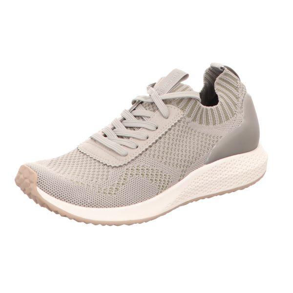 Tamaris Damen-Sneaker-Slipper Oliv-Grün