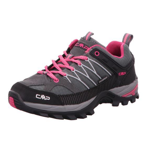 CMP Damen-Leichtwanderschuh Rigel Low Wmn Trekking Shoe Grau-Pink