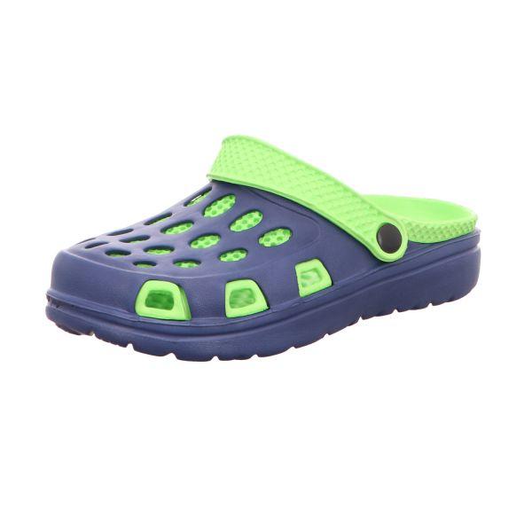 Sneakers Jungen-Badeschuh Blau-Grün