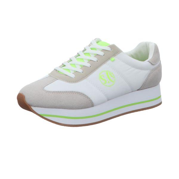 s.Oliver Damen-Sneaker Weiß