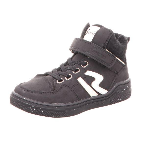 Sneakers Jungen-Sneaker-Stiefelette Schwarz