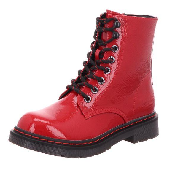 Dockers Damen-Schnürstiefelette Rot