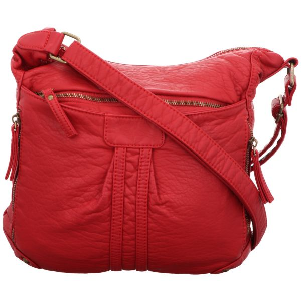 Jewels of Style Damen-Schultertasche Rot